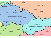 Czechoslovakia between 1968 (Constitutional Law of Federation) and 1989 (Velvet Revolution)