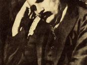 Dr. Allama Muhammad Iqbal (1877-1938), a notable Muslim philosopher, poet and scholar from India (then British India)