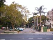 English: The entrance to the Queensland University of Technology, Gardens Point campus ( this photograph was taken by Figaro )