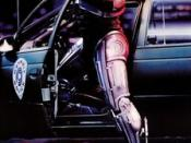 Film poster for Robocop - Copyright 1987, Orion Pictures