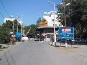 a photo of Northern Cyprus border