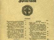 Cover of the first issue of Canadian Medical Association Journal.