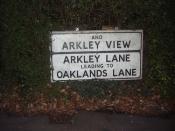 Arkley sign