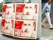 Pablo Escobar Presidente
