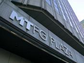 MTFG Plaza is an office building of the Mitsubishi Tokyo Financial Group.
