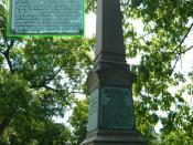 English: Tomb of Allan Pinkerton, Graceland Cemetary, Chicago