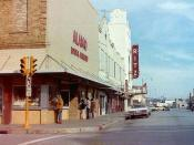 Alamo Loan & the Ritz Theater - 1977