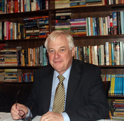 English: Former Governor of Hong Kong, Chris Patten, in Beijing, China.