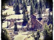 The Yankee Girl silver mine, Red Mountain Colorado