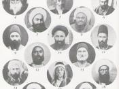 English: The Apostles of Baha'u'llah. Scanned in from pg. 262 of: Pictures are of historical figures in the Baha'i Faith. Category:Pictures of apostles of Bahá'u'lláh