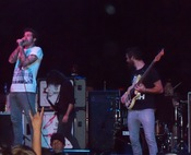 English: The band, Of Mice & Men performing in 2010 in Tempe, Arizona.