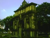 English: Arch of the Centuries at the University of Santo Tomas