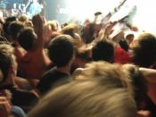 A mosh pit, uploaded from flickr