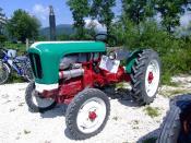 Deutsch: Lamborghini-Traktor Lamborghinetta Baujahr 1957