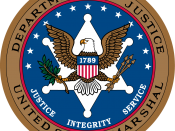 English: United States Marshal Service Seal