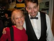 With Stephen Bent (Zossima)