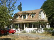English: Taft House, 16745 San Fernando Mission Blvd., Granada Hills, Los Angeles, California
