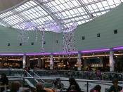 English: The Upper Circle Food Court in the White Rose Shopping Centre, Leeds