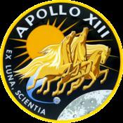 Logo Apollo 13 עברית: הלוגו של אפולו 13 Polski: Logo misji Apollo 13 Português: Insígnia da missão Apollo 13 Slovenščina: Insignija misije Apollo 13