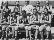 Boys basketball team - NARA - 285406