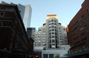 Main entrance of Massachusetts General Hospital
