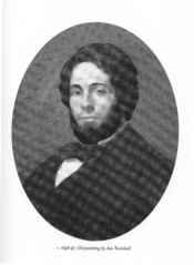 English: Oil Painting of Herman Melville in 1846/7.