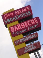 English: Sonny Bryan's Neon Sign