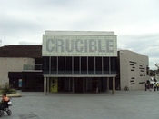 The Crucible theatre, Sheffield, England.