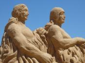 The theme of the Seventh International Sand Sculpture Festival was