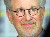 English: Steven Spielberg at the 2011 San Diego Comic-Con International