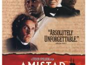 Film poster for Amistad (1997 film) - Copyright 1997, DreamWorks