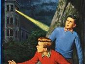Cover of the revised edition of The Tower Treasure, the first Hardy Boys mystery