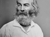 English: Walt Whitman. Library of Congress description: