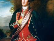 The earliest authenticated portrait of George Washington shows him wearing his colonel's uniform of the Virginia Regiment from the French and Indian War. The portrait was painted about 12 years after Washington's service in that war, and several years bef