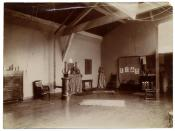 Henry Ossawa Tanner's studio