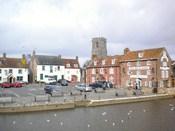 English: The quay, Wareham, Dorset, England.