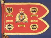 Guidon of the RCMP