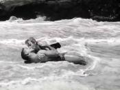 Cropped screenshot of Burt Lancaster and Deborah Kerr from the film From Here to Eternity
