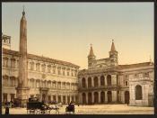[Piazza di San Giovanni in Laterano, Rome, Italy] (LOC)