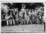 1. Sen. Ben Tillman, 2. John E. Osborne, 3. J.B. Sanford, 4. P.L. Hall, 5. Governor [Woodrow] Wilson, 6. Norman Mack, 7. Willard Saulsbury, 8. J.E. Davies, 9. J.R. Mountcastle, 10. Cong. Talbott  (LOC)