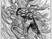 English: A Man whom Seven Devils had Bound
