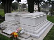 The tomb of Cecil B. DeMille at Hollywood Forever Cemetery
