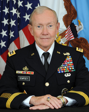 English: General Martin E. Dempsey, USA, 18thChairman of the Joint Chiefs of Staff.