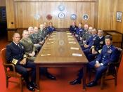 The Joint Chiefs of Staff and several Commanders in Chief, July 1, 1983