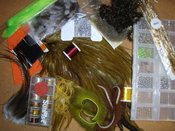 Illustrative Selection of Fly Tying Materials