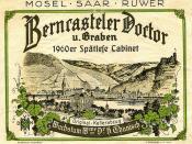 1960 - Berncasteler Doctor (Mosel)