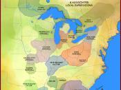 English: A map showing the Hopewell Interaction Sphere and various local expressions of the Hopewell cultures, including the Laurel Complex, Saugeen Complex, Point Peninsula Complex, Marksville culture, Copena culture, Kansas City Hopewell, Swift Creek Cu