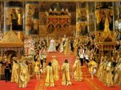 Coronation of Maria Fyodorovna and Alexander III