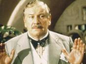 Peter Ustinov as Poirot in Evil Under the Sun