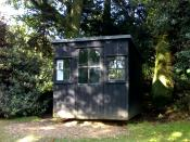 Shaw's revolving hut, where he wrote Pygmalion, amongst other things.